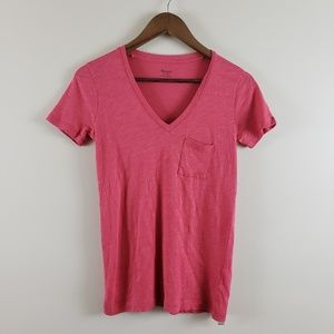Madewell Red T-Shirt